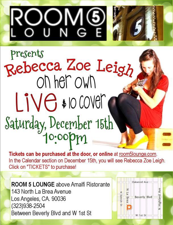 Rebecca Room 5 Lounge